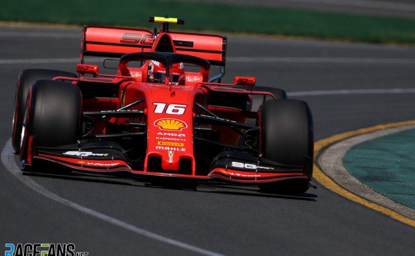 F1 - Melbourne : le vent pose des difficultés aux Ferrari