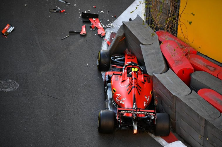 F1 - Baku : un accident au plus mauvais moment !