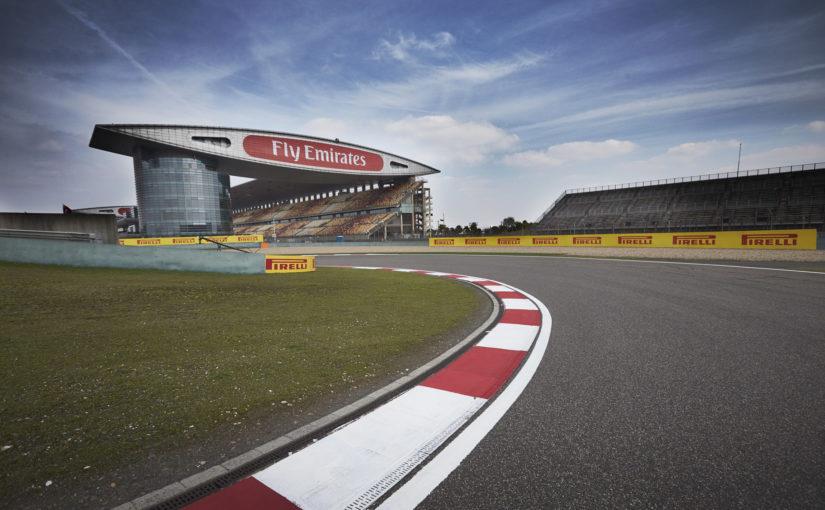F1 : en route pour Shanghai !