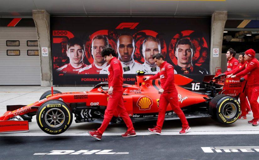 F1 - Shanghai : problème mécanique pour Charles, aileron illégal pour Mercedes !
