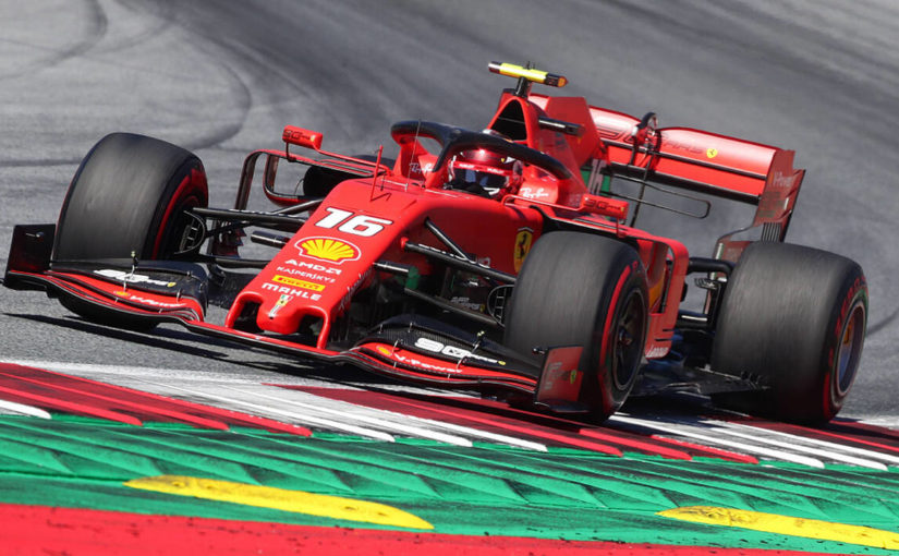 F1 - Red Bull Ring : Charles le plus rapide, Bottas et Verstappen dans le décor !