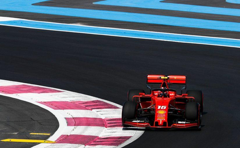 F1 - Castellet : Une journée positive pour Charles