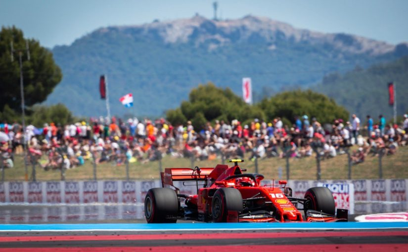 F1 - Castellet : podium et super week-end pour Charles !