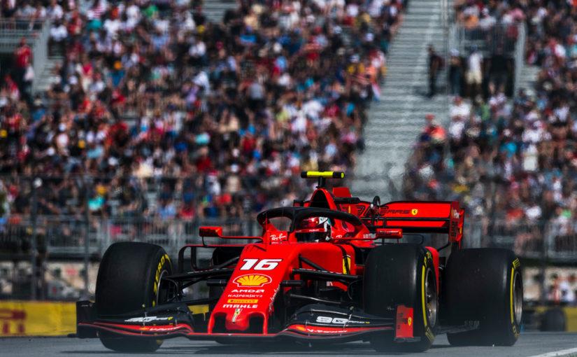 F1 - Montreal : Vettel en pole, Charles troisième !