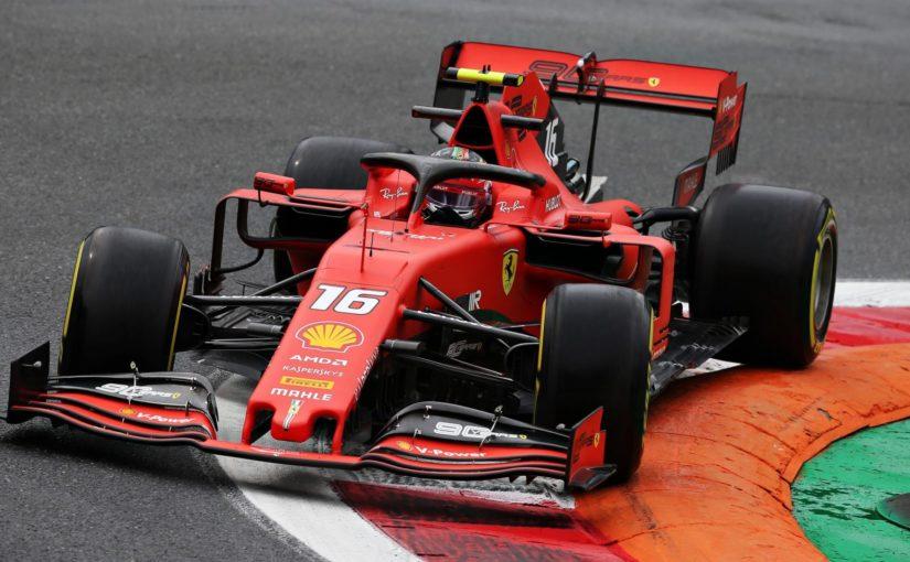 F1 - Monza : Charles en tête de la première journée !