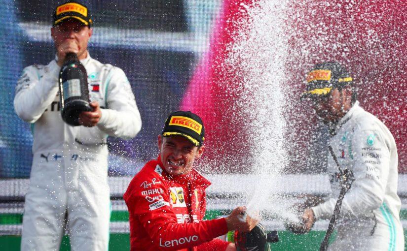 F1 - Monza : Charles patron en terres Italiennes !