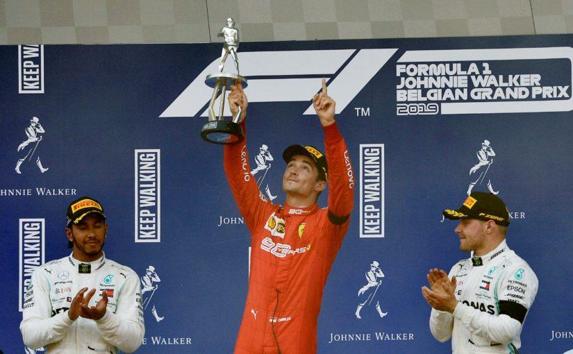 F1 - Spa-Francorchamps : une première victoire dédiée à Anthoine !