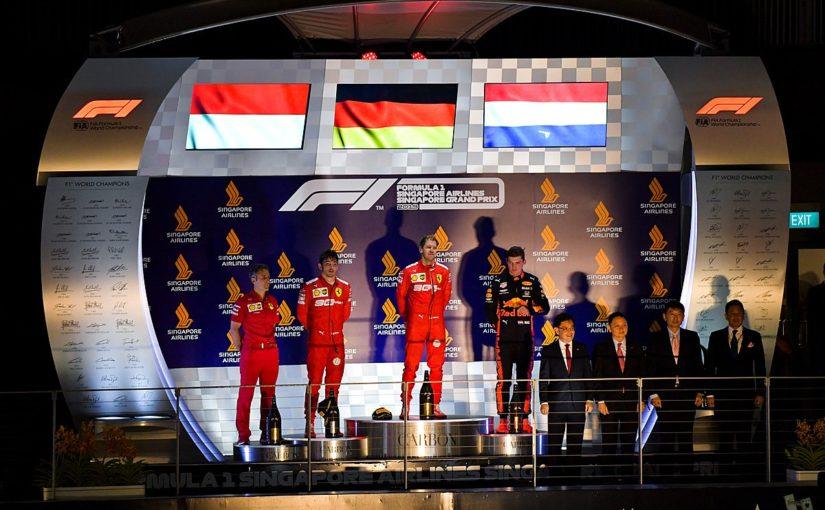 F1 - Singapour : Charles déçu malgré le doublé de Ferrari !