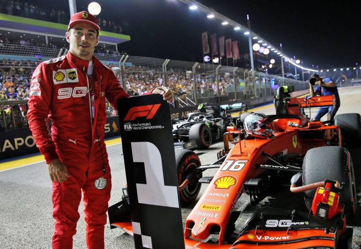 F1 - Singapour : Troisième pole d'affilé pour Charles !
