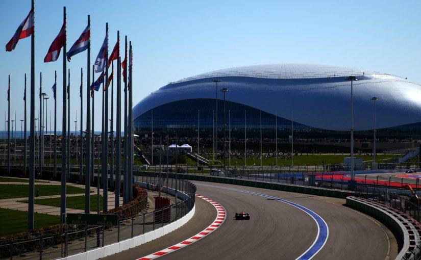 F1 : en route pour Sotchi !