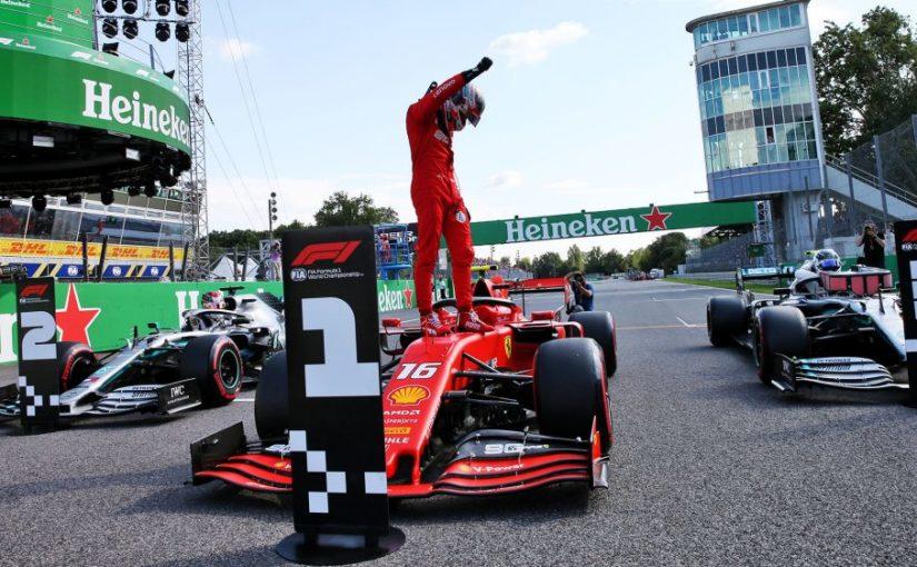 F1 - Monza : quatrième pole position pour Charles !