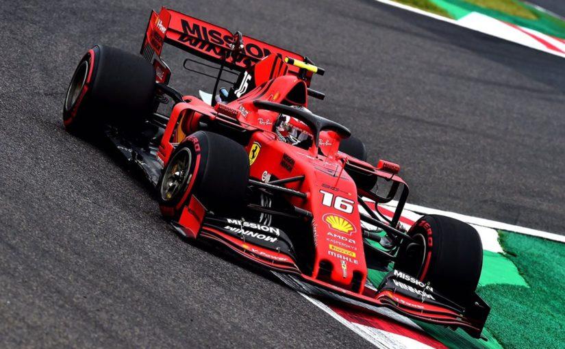F1 - Suzuka : les Ferrari un ton en dessous, la journée de samedi annulée !