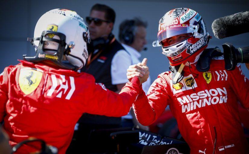 F1 - Suzuka : Une première ligne totalement Ferrari !