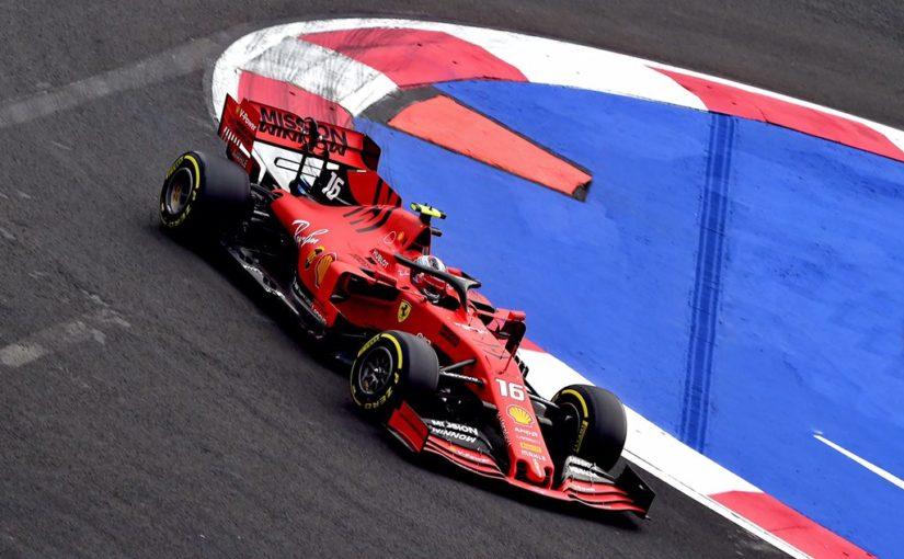 F1 - Mexico : Charles en difficulté mais rapide sur un tour !