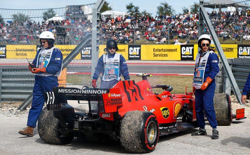 F1 - Austin : un souci de moteur et une deuxième ligne pour Charles