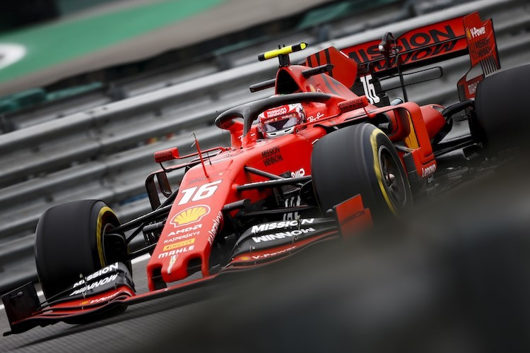 F1 - Interlagos : pénalisé, Charles ne partira que quatorzième !