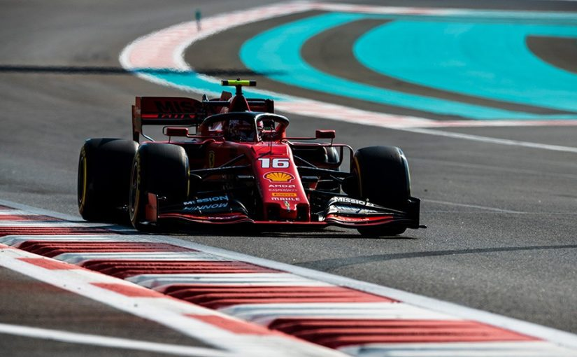 F1 - Abu Dhabi : Charles partira troisième !