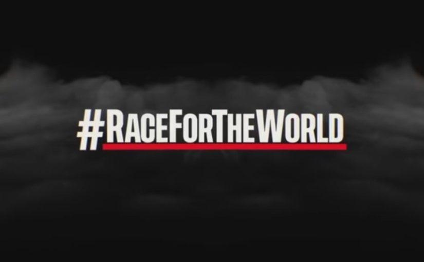 Charles et les pilotes lancent le Race For The World !