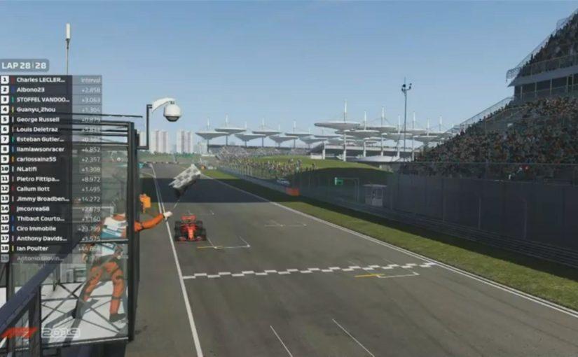 Virtual GP - Shanghai : Deuxième course et deuxième victoire !