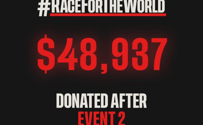 RaceForTheWorld - Course 3&4 : Charles en tête du championnat !