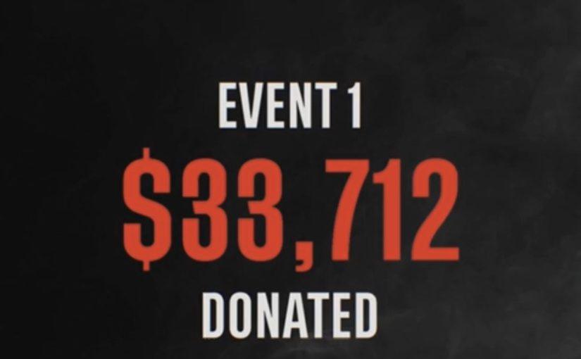 RaceForTheWorld - Course 1&2 : 33.000 dollars récoltés et Arthur en tête du championnat !
