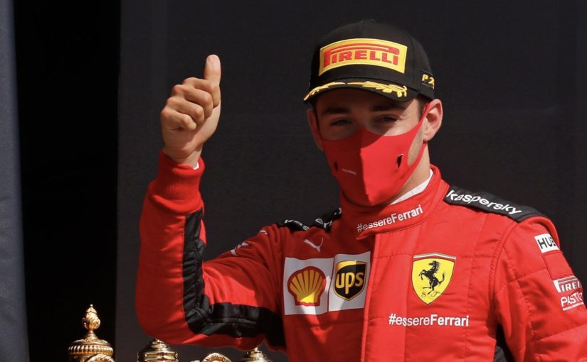 F1 : Silverstone : deux podiums en quatre courses pour Charles !