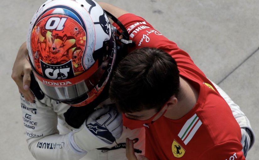 F1 2020 - Monza : gros crash pour Charles, première victoire pour Gasly !