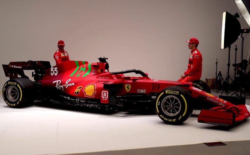 F1 2021 : Ferrari lève le voile sur la SF21 !