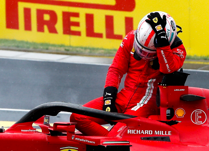 F1 2021 - Hungaroring : Charles victime de Stroll !